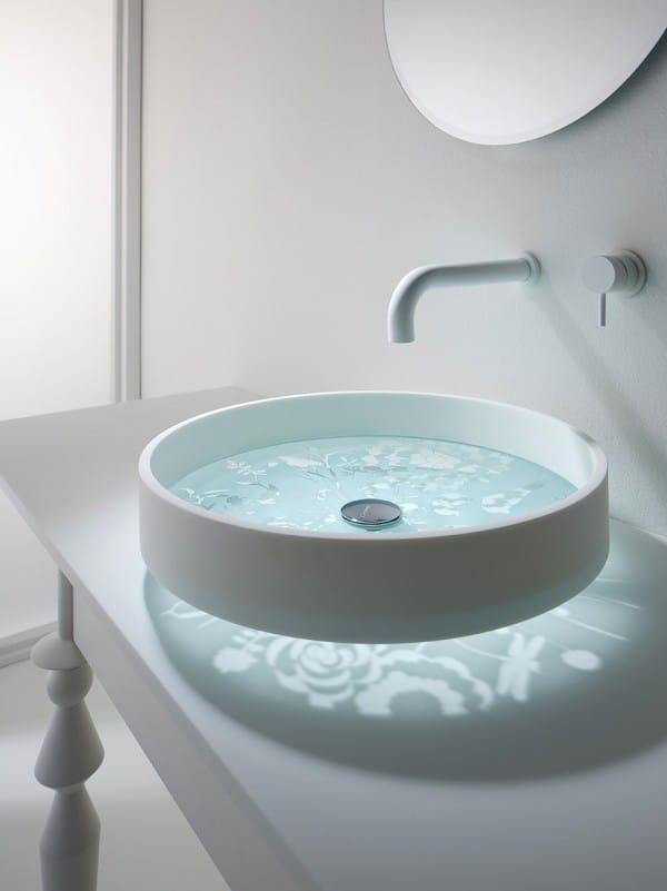 Trang trí nội thất nhà ở với những chiếc bồn rửa độc đáo phần 1