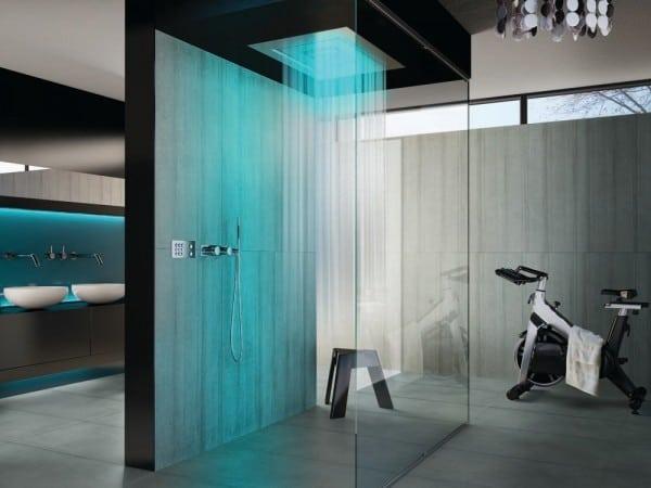 30 thiết kế nội thất tân tiến của phòng tắm hoa sen phần 1