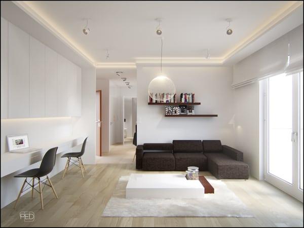 Ý tưởng thiết kế cho căn hộ diện tích nhỏ