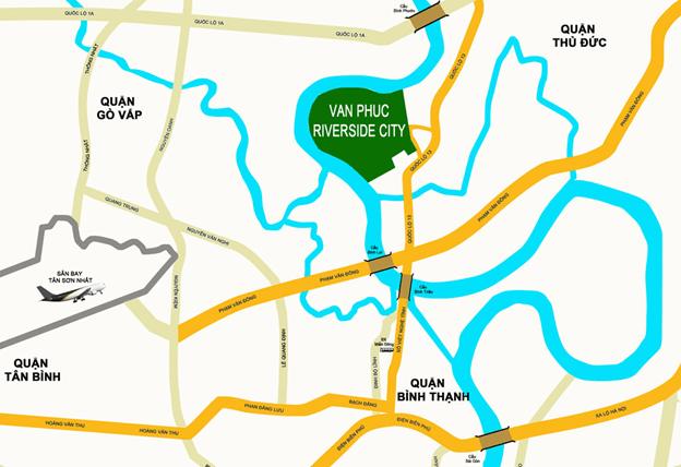 Dự Án Bất Động Sản Vạn Phúc RiverSide City