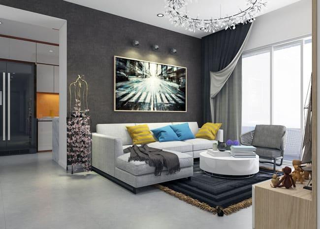 Thiết kế nội thất đẹp vượt trội của dự án căn hộ Sunrise City Quận 7