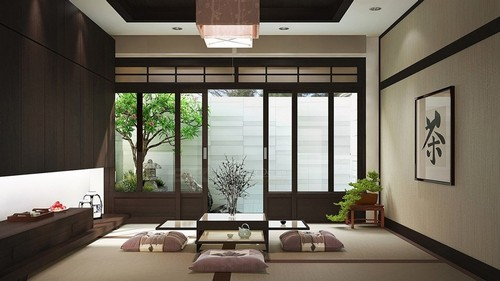 Hạnh Phúc Hơn Với Trang Trí Nội Thất Căn Hộ Tối Giản Phong Cách Nhật