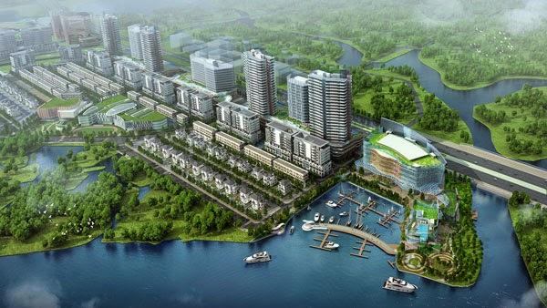 Thông tin dự án bất động sản khu dân cư Đại Quang Minh - Thủ Thiêm
