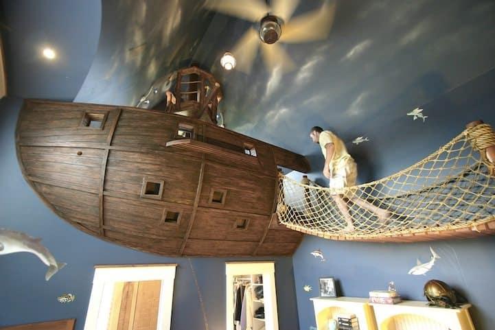 Những mẫu thiết kế nội thất phòng ngủ cho bé trai siêu sáng tạo và đáng yêu- Phần 1
