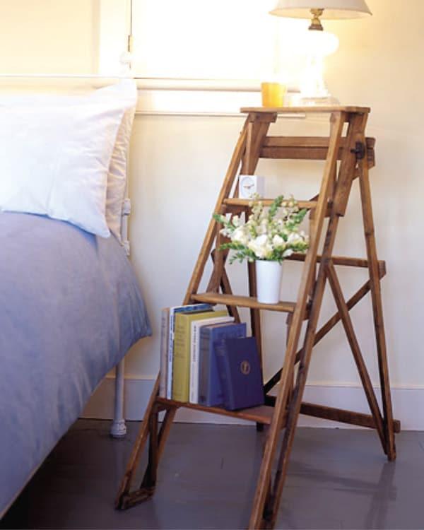 Biến tấu cầu thang cũ thành vật trang trí