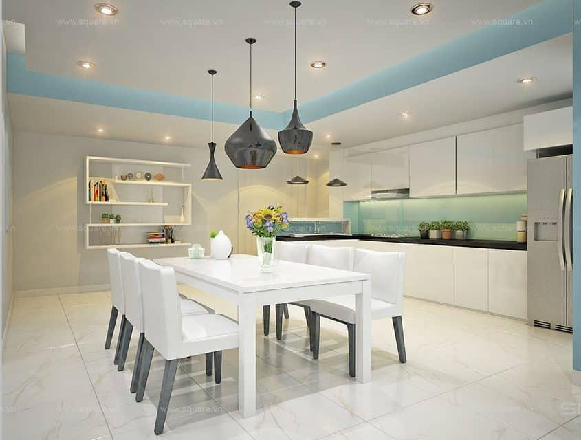 Thiết kế – Thi công căn hộ chị Trang- Tropic Garden