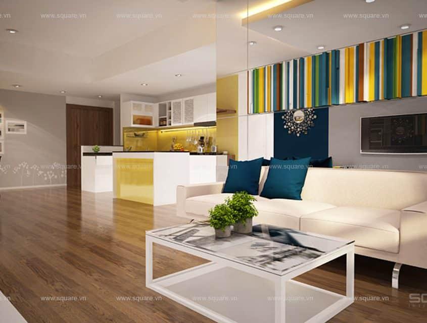 Thiết kế – Thi công căn hộ chị Chi- Tropic Garden