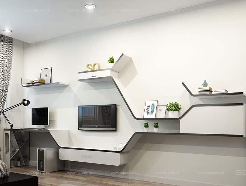 Thiết kế – Thi công căn hộ anh Luân- Ngọc Lan