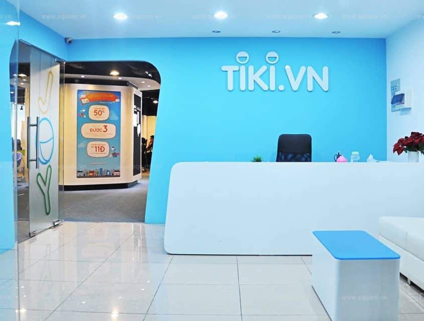 Thiết kế – Thi công văn phòng Tiki