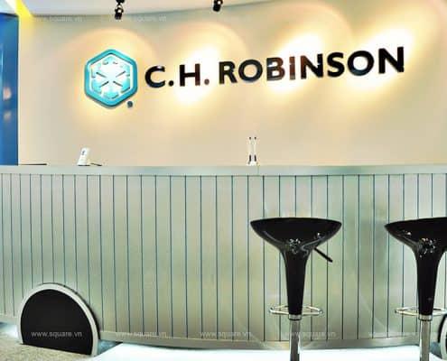 Thiết kế- Thi công văn phòng Robinson