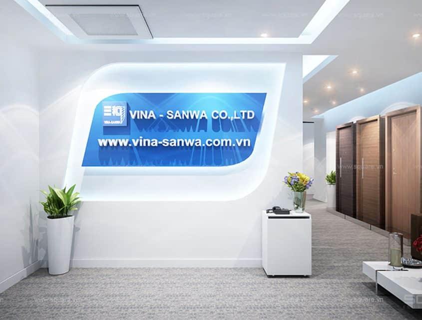 Thiết kế – Thi công văn phòng Vinasawa
