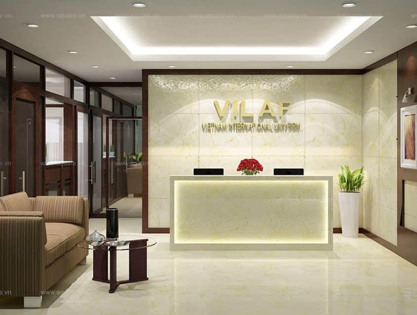 Thiết kế – Thi công văn phòng Vilaf
