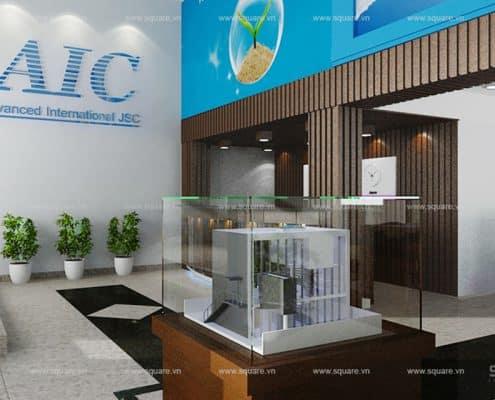 Thiết kế – Thi công văn phòng AIC