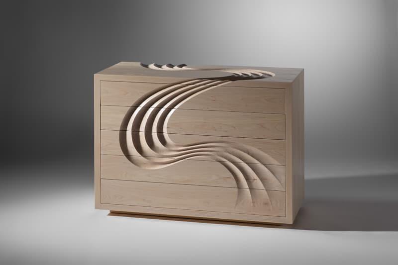 Tủ kéo khắc tay của Martin Gallagher