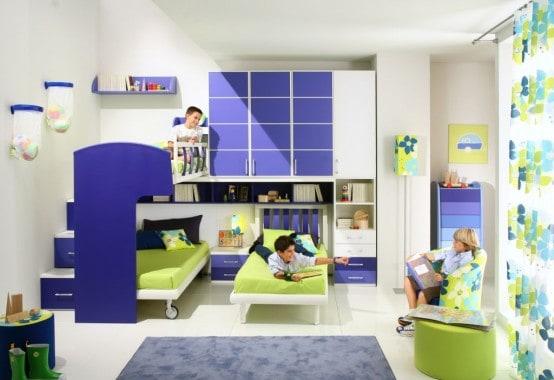 Thả trí tưởng tượng vô hạn của bạn vào thiết kế nội thất phòng ngủ trẻ em