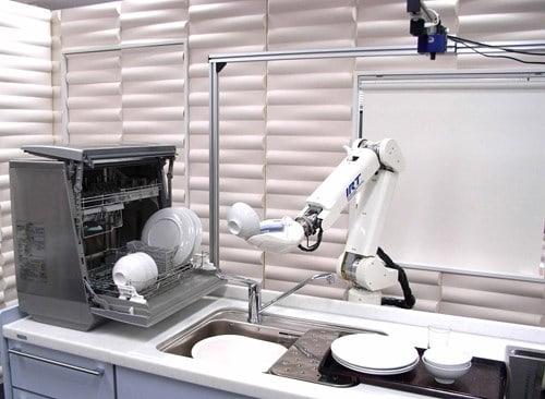 Robot và thiết bị kết nối trong nhà thông minh
