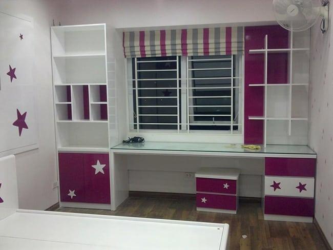 Thiết kế phòng ngủ nhỏ cho bé gái đẹp