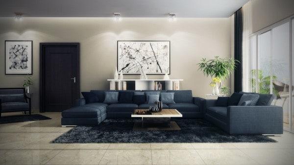 21 Kiểu Thiết Kế Phòng Khách Với Ghế Sofa Cho Nội Thất Nhà Ở | Phần 2