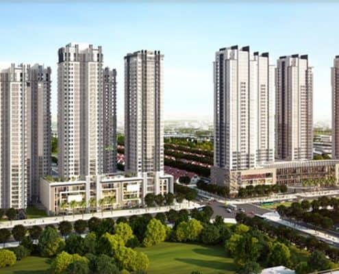 Thiết kế – Thi công Sảnh Sunrise City Tower 4