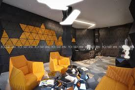 Xu hướng thiết kế hình học trong trang trí nội thất