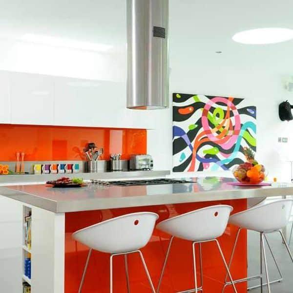Trang Trí Nội Thất Phòng Bếp Màu Sắc Cho Không Gian Đẹp Ngày Tết