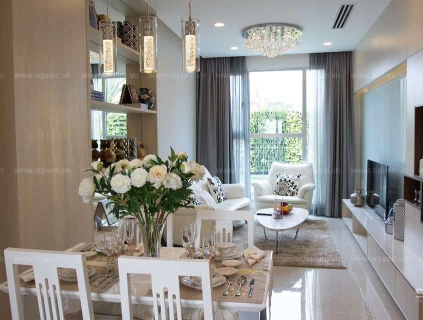 Cải tạo thiết kế- Thi công căn hộ hai phòng ngủ- Golden Star