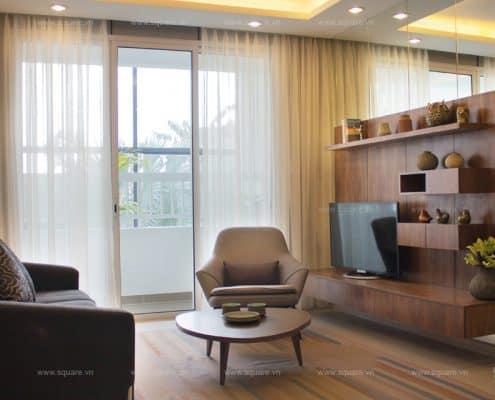 Thiết kế – Thi công Nhà mẫu Dự án Lexington Residence