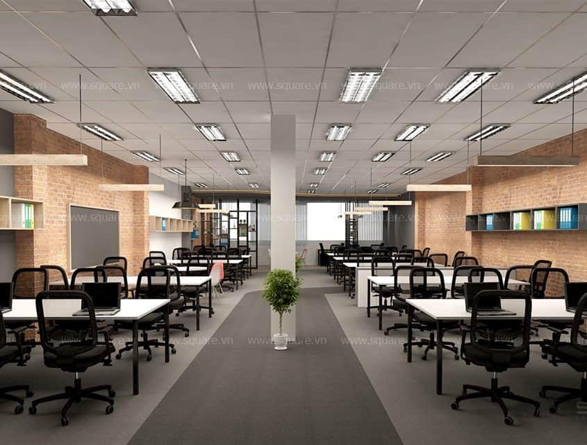 Thiết kế – Thi công văn phòng Dinosys