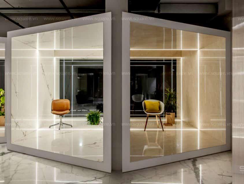 Thiết kế – Thi công Showroom công ty Bathpro