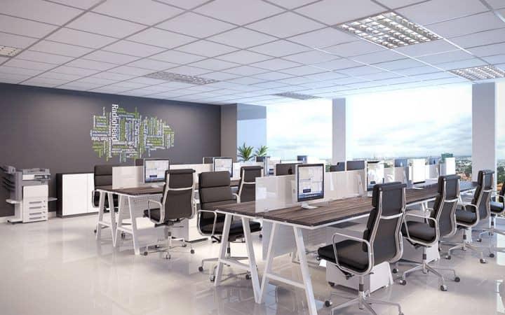 4 lưu ý khi thiết kế một văn phòng nhỏ gọn