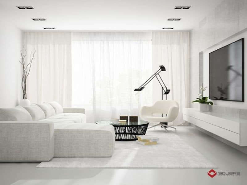 Trần nhà đẹp phòng khách