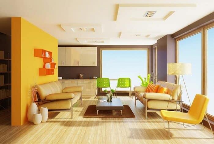 Các mẫu trần nhà đẹp cho phòng khách hiện đại