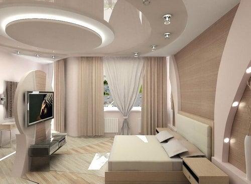 Các mẫu trần nhà phòng khách đẹp nhất 2019