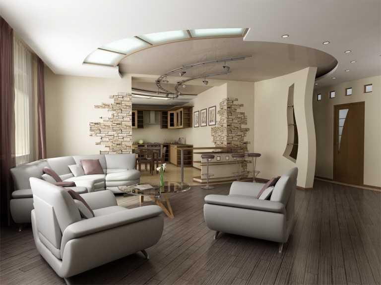 trần thạch cao phòng khách don gian