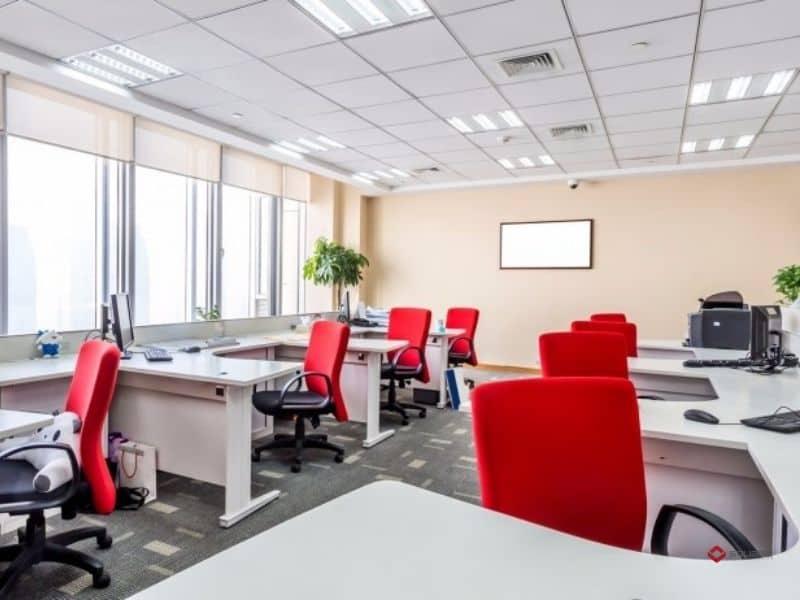 Thiết kê văn phòng hiện đại