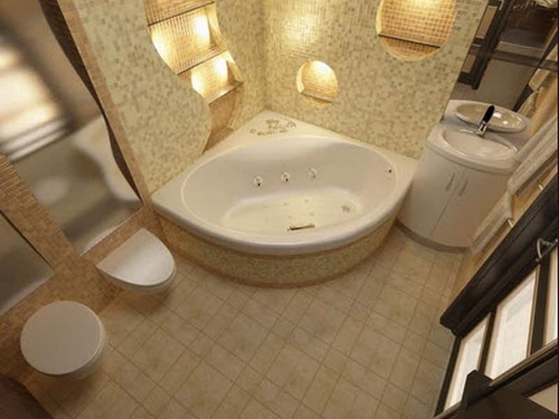 Cảm hứng thiết kế phòng tắm với bồn Jacuzzi