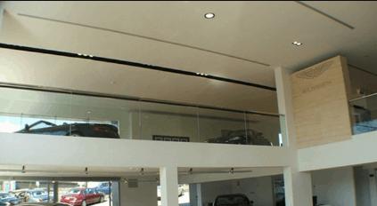 Mẫu trần đẹp cho các showroom ô tô