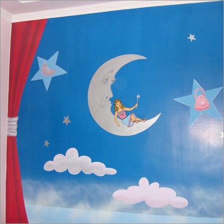 trần nhà phòng ngủ cho trẻ em