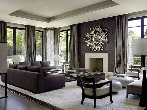 Thiết kế nội thất phòng khách trẻ trung năng động tạo cảm hứng
