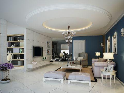 Cách trang trí trần thạch cao phòng khách đẹp