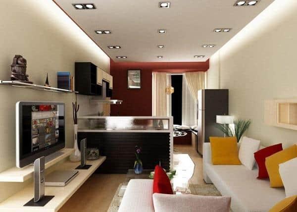 Những ý tưởng thiết kế nội thất phòng khách để nâng cao chất lượng lối sống của bạn phần 4