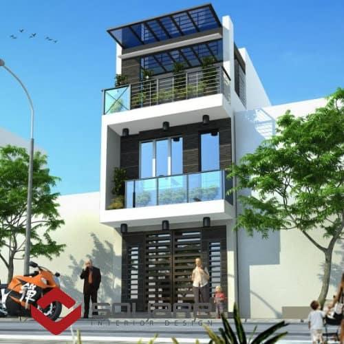 Chiêm ngưỡng mẫu nhà phố 3 tầng đẹp nhất
