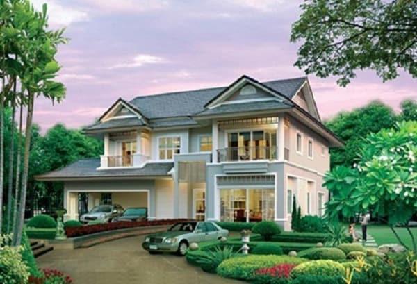 Dù thiết kế như thế nào thì điểm nhấn của ngoại thất phải được tập trung ở mặt tiền ngôi nhà