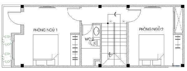 Mẫu Nhà 3 Tầng Công Ty Thiết Kế Xây Dựng Uy Tín TPHCM