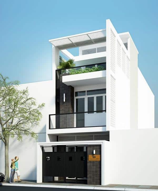 10 Mẫu Nhà Phố 2 Tầng Đẹp Hiện Đại Chi Phí Vừa Túi Tiền