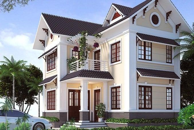 TOP 40 Mẫu Nhà 2 Tầng Đơn Giản Chữ L Đẹp Nhất Hiện Nay