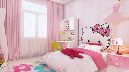 Phòng ngủ con gái nhỏ.
