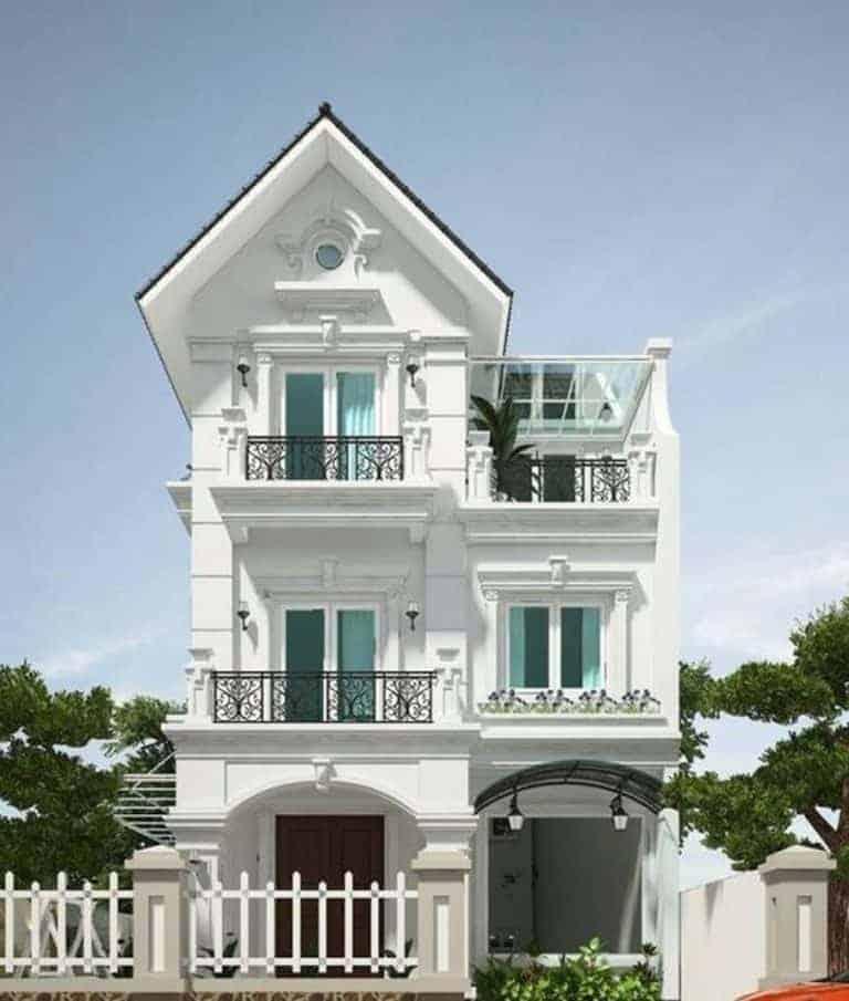 Nắm Bắt Xu Thế Với Những Mẫu Nhà 3 Tầng Mái Thái Sang Trọng