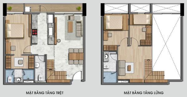 Bản vẽ thiết kế nhà cấp 4 mái thái có gác lửng.