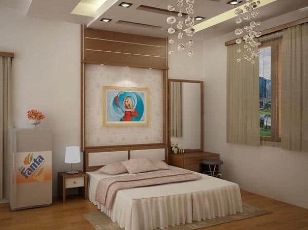 Những Mẫu La Phong Thạch Cao Phòng Ngủ Theo Xu Hướng 2019